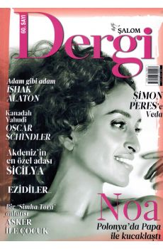 ŞALOM - Dergi Ekim 2016